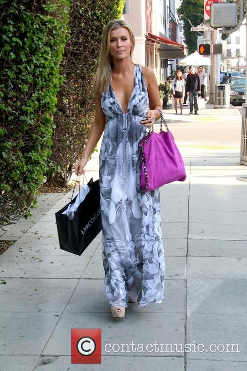 Joanna Krupa and Denise Richards Lunch At Villa...