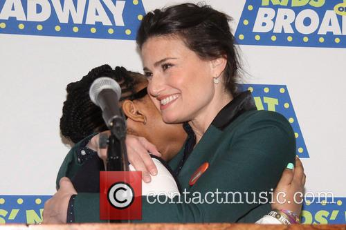 Mary Suriel and Idina Menzel 1