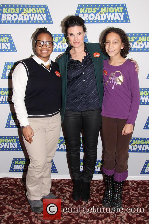 Mary Suriel, Idina Menzel and Tennille Mack 2