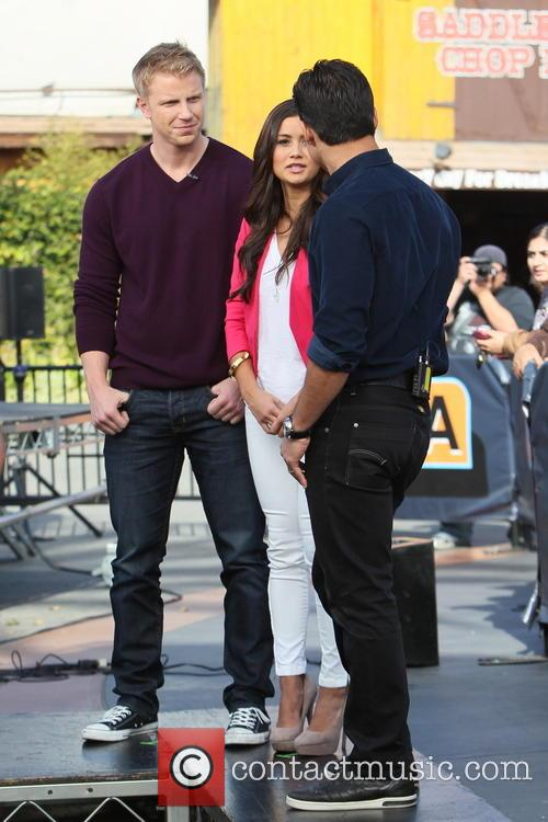 Sean Lowe, Catherine Guidici and Mario Lopez 3