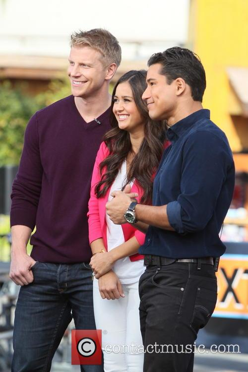 Sean Lowe, Catherine Guidici and Mario Lopez 6