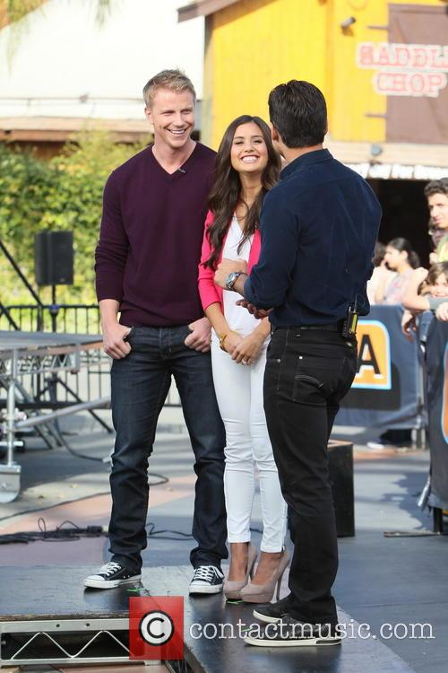 Sean Lowe, Catherine Guidici and Mario Lopez 8