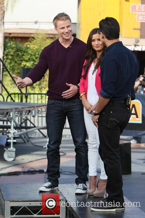 Sean Lowe, Catherine Guidici and Mario Lopez 10