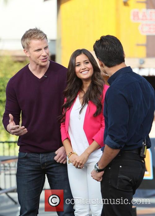 Sean Lowe, Catherine Guidici and Mario Lopez 11