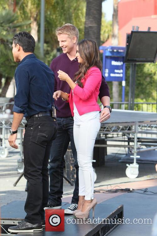 Sean Lowe, Catherine Guidici and Mario Lopez 1