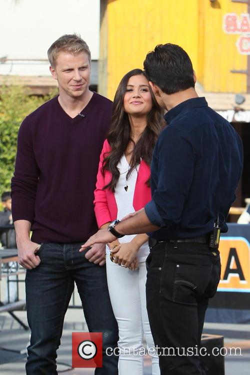 Sean Lowe, Catherine Guidici and Mario Lopez 13