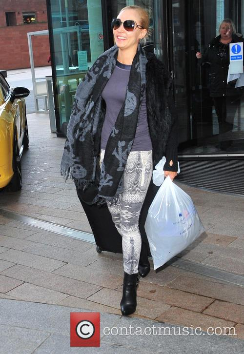 SCD Contestants leaving hotel Liverpool