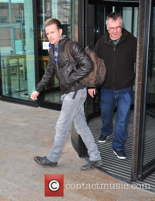 nicky byrne scd contestants leaving hotel liverpool 4037440