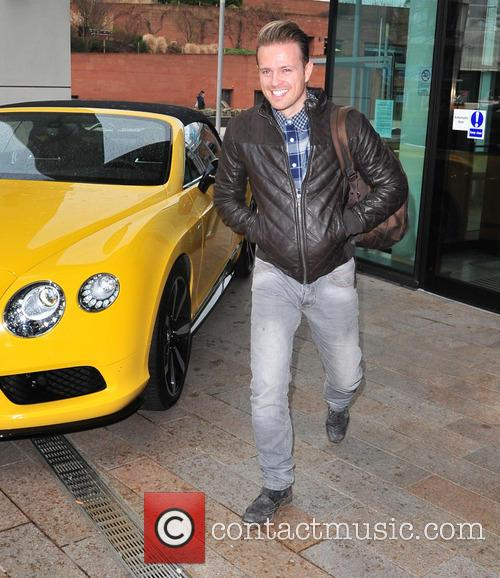 nicky byrne scd contestants leaving hotel liverpool 4037451