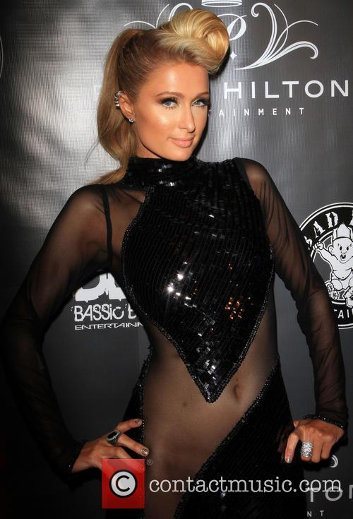 Paris Hilton, Diddy Pre-Grammy Party