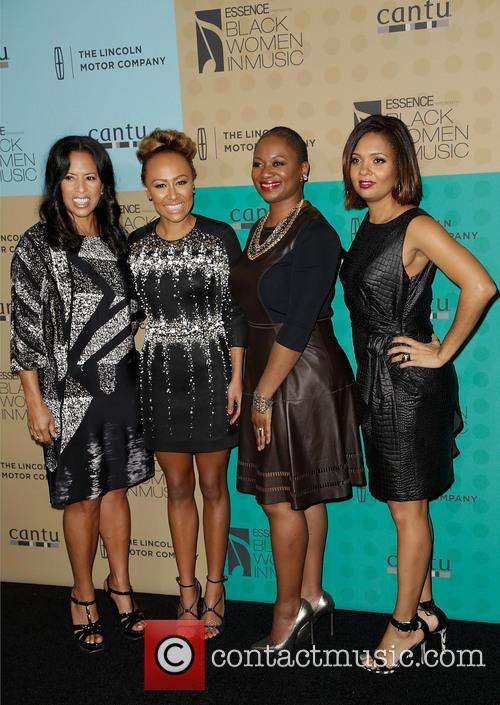 Michelle Ebanks, Emeli Sande, Vanessa Bush and Guest 1