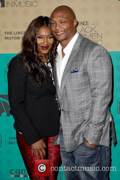 Tamara Johnson-george and Eddie George