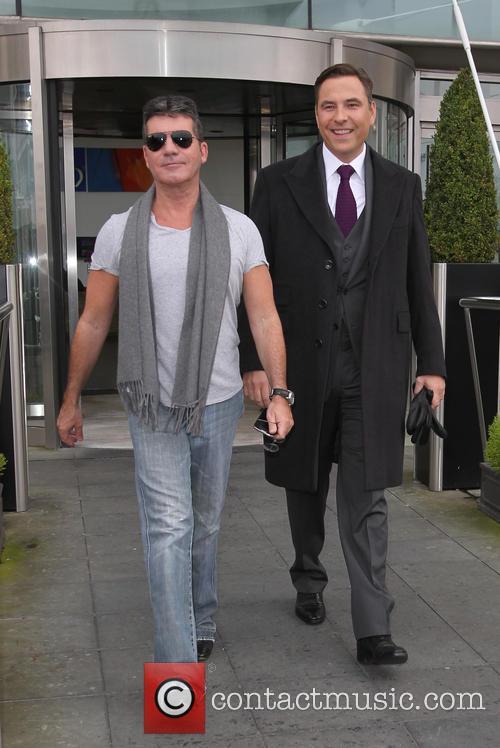 Simon Cowell and David Walliams 2