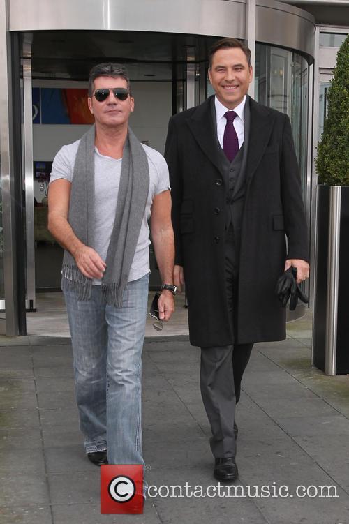Simon Cowell and David Walliams 3