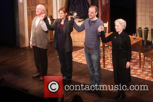 Peter Maloney, Debra Messing, Brian F. O'byrne and Dearbhla Molloy
