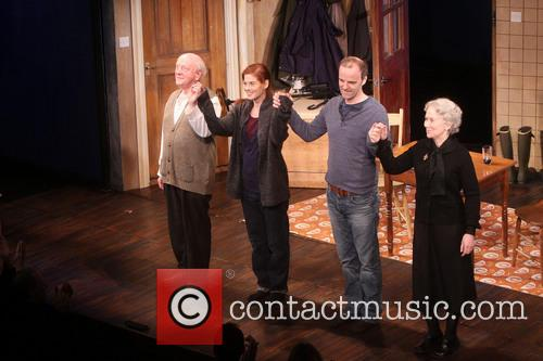 Opening Night of Broadway's Outside Mullingar - Curtain...