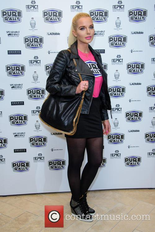 Helen Flanagan Launches New 2014 Pure Car Rally