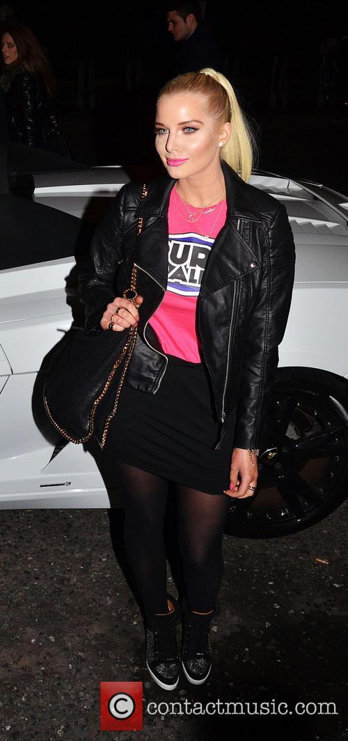 helen flanagan 2014 pure car rally launch 4038185
