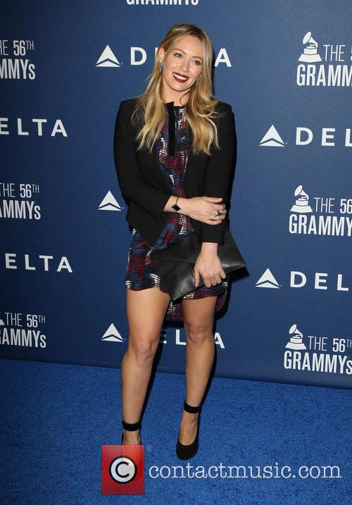 hilary duff delta airlines pre grammy party 4038659