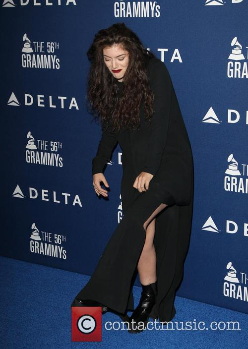 lorde delta airlines pre grammy party 4038624