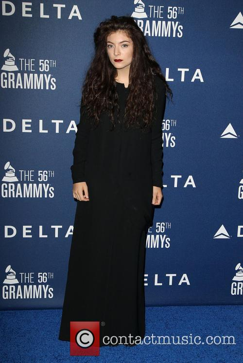 lorde delta airlines pre grammy party 4038657