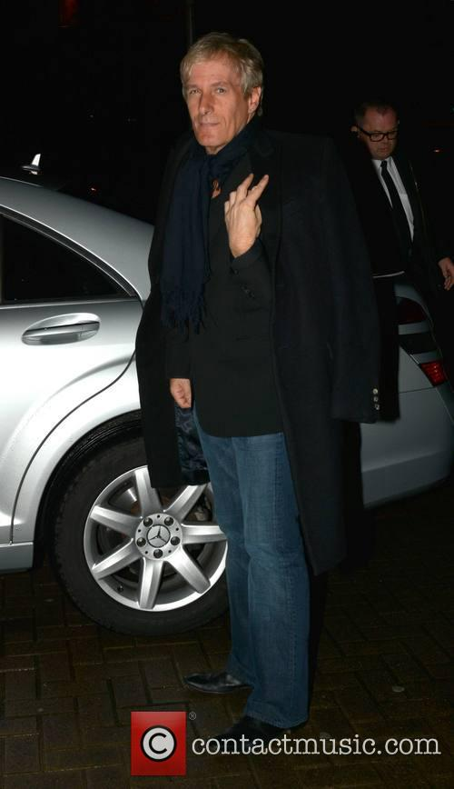 Michael Bolton arrives at The Late Late