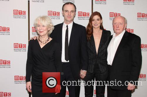 Dearbhla Molloy, Brian F. O'byrne, Debra Messing and Peter Maloney