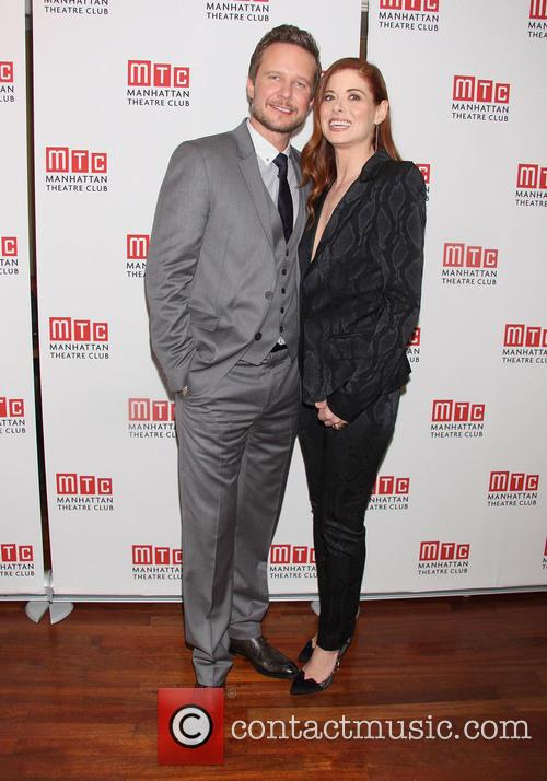 Will Chase and Debra Messing 2