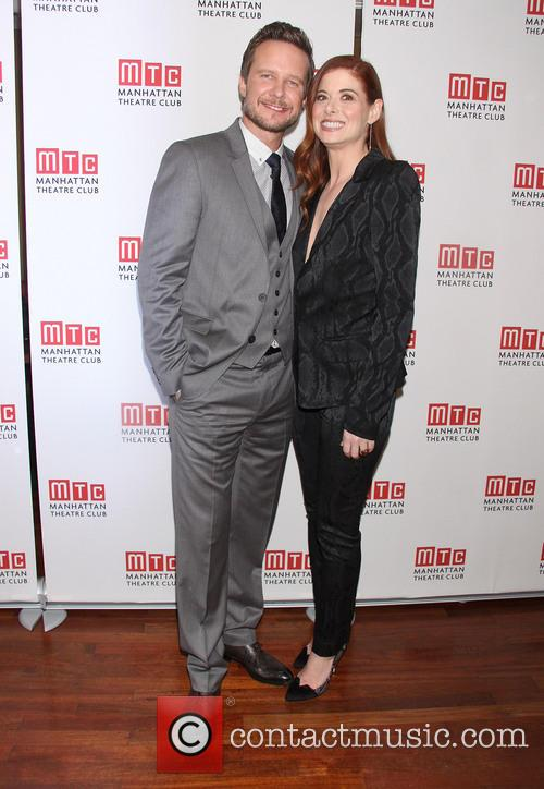Will Chase and Debra Messing 3