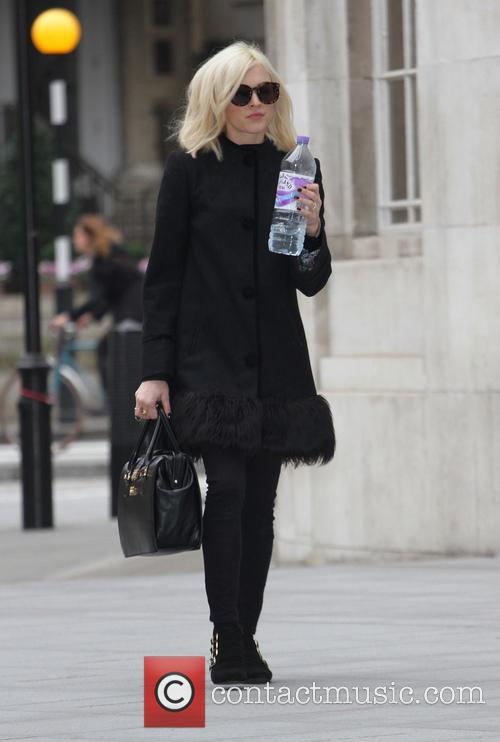 Fearne Cotton arrives at BBC Radio 1