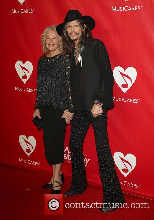 Carole King and Steven Tyler
