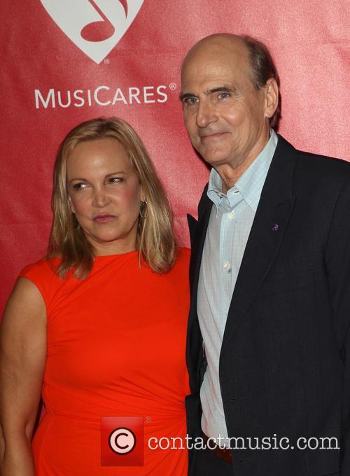 James Taylor and Caroline Smedvig
