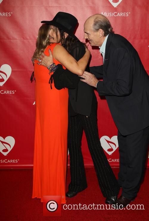 James Taylor, Steven Tyler and Caroline Taylor 2