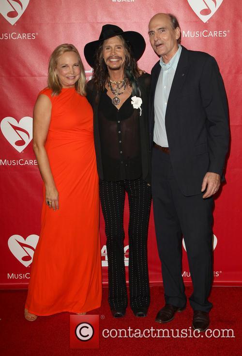 James Taylor, Steven Tyler and Caroline Smedvig 10