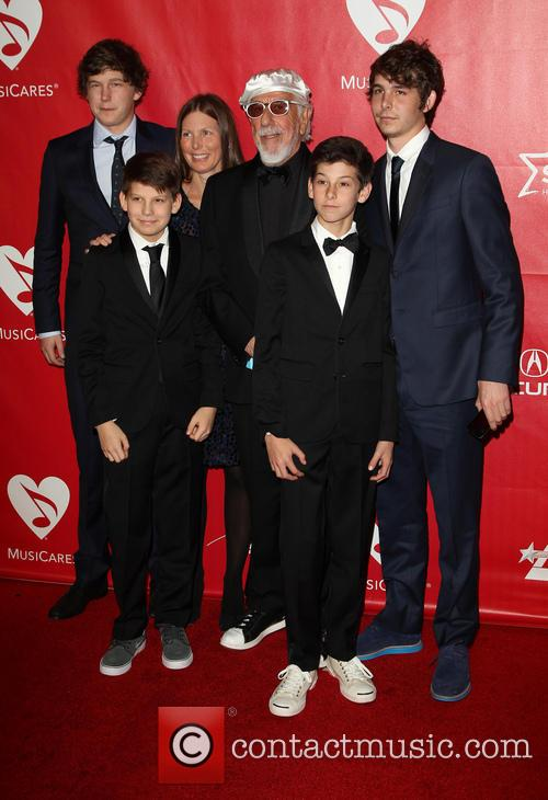 Lou Adler and Family 2
