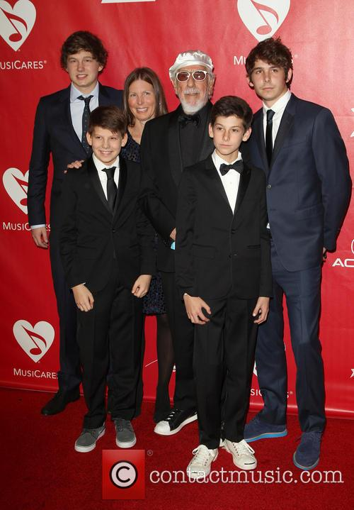 Lou Adler and Family 5