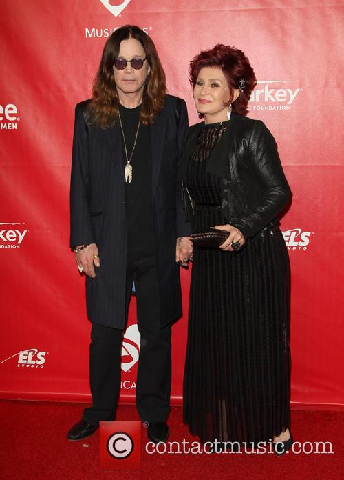 Ozzy Osbourne and Sharon Osbourne 6