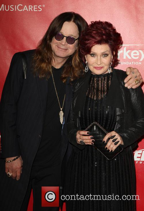 Ozzy Osbourne and Sharon Osbourne 7