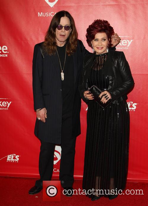 Ozzy Osbourne and Sharon Osbourne 8