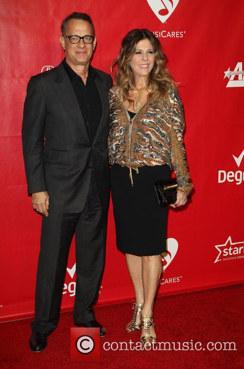 Tom Hanks, Rita Wilson, Los Angeles Convention Center