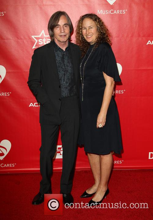 Dianna Cohen and Jackson Browne 4