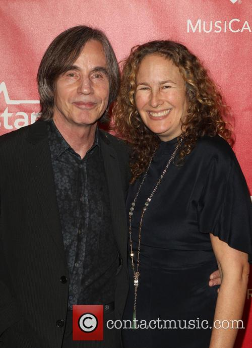 Dianna Cohen and Jackson Browne 1