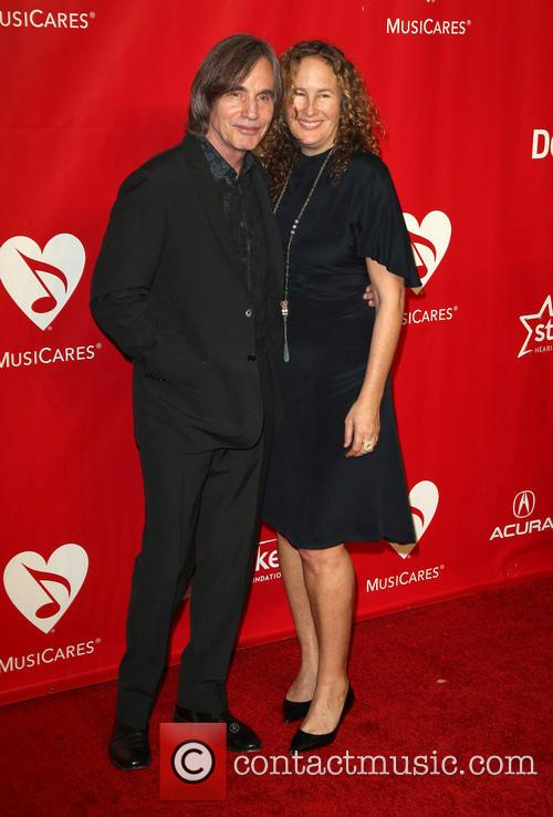 Jackson Browne and Dianna Cohen 5