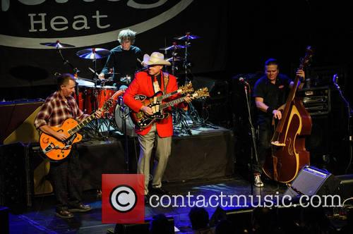 Reverend Horton Heat, Jim Heath, Jimbo Wallace, Scott Churilla and Deke Dickerson 9