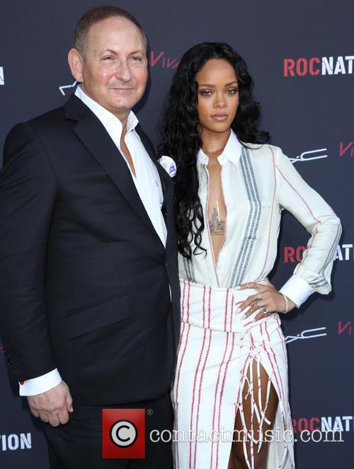 John Demsey and Rihanna 2