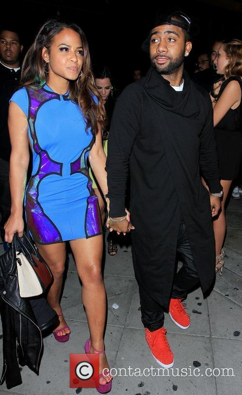 Christina Milian and Jas Prince 2