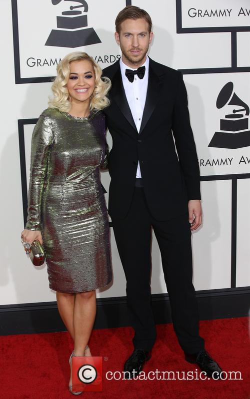 Calvin Harris and Rita Ora 9