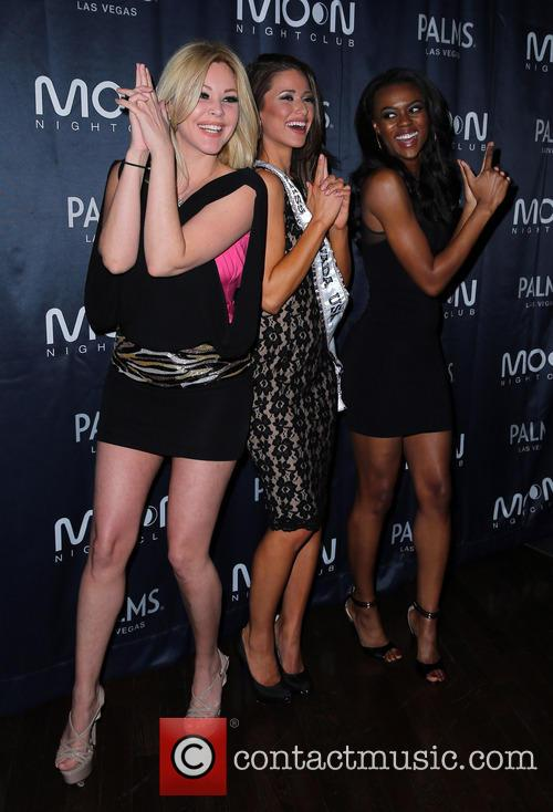Shanna Moakler, Nia Sanchez, Miss Nevada 2014 and Guest 3
