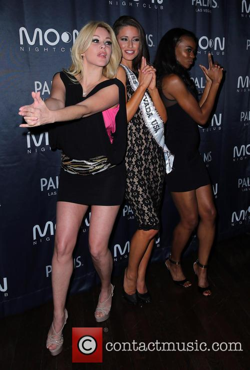 Shanna Moakler, Nia Sanchez, Miss Nevada 2014 and Guest 4
