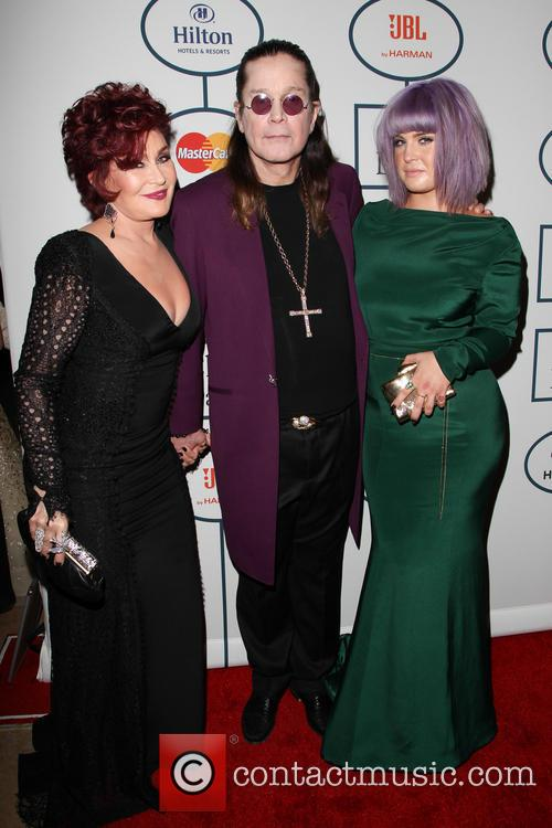 Sharon Osbourne, Ozzy Osbourne and Kelly Osbourne 1